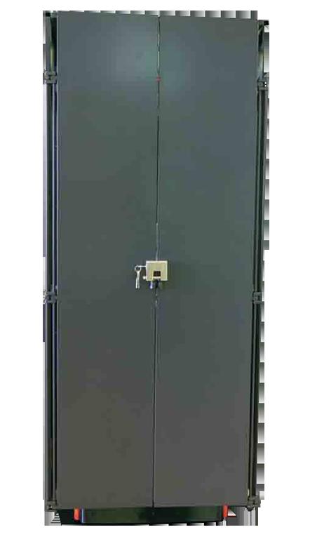 armario blindado puertas plegables